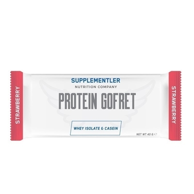 Supplementler.Com Protein Gofret 40 Gr 1 Adet