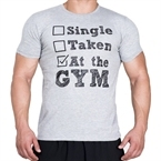 Supplementler.com Single Taken At The Gym T-Shirt Açık Gri
