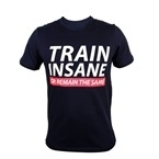 Supplementler.com Train Insane or Remain the Same T-Shirt Lacivert