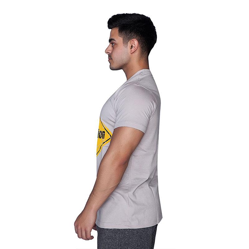 Supplementler.com Under Construction T-Shirt Açık Gri