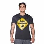 Supplementler.com Under Construction T-Shirt Koyu Gri
