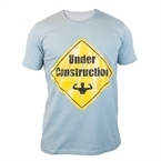Supplementler.com Under Construction T-ShirtAçık Gri