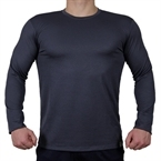 Supplementler.Com Uzun Kollu Antrenman T-Shirt Gri