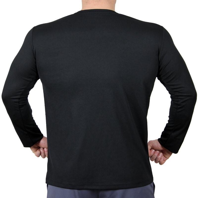 Supplementler.com Uzun Kollu Antrenman T-Shirt Siyah