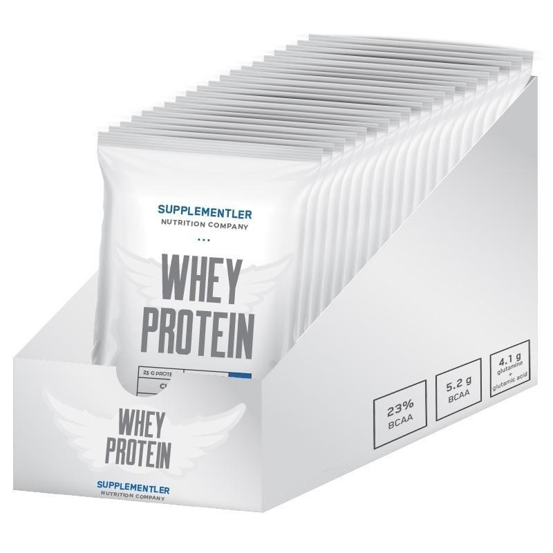 Supplementler.com Whey Protein 30 Gr Tek Kullanımlık 20 Adet