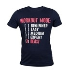 Supplementler.com Workout Mode T-Shirt Lacivert