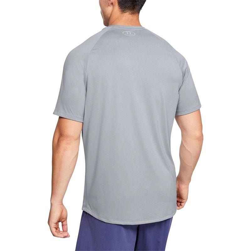 Under Armour 2.0 Emboss Short Sleeve T-Shirt Gri