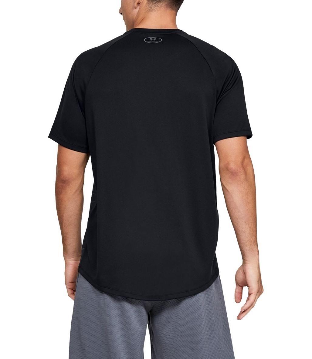 Under Armour 2.0 Emboss Short Sleeve T-Shirt Siyah-Gri