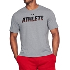 Under Armour Athlete SS Erkek T-Shirt - Gri