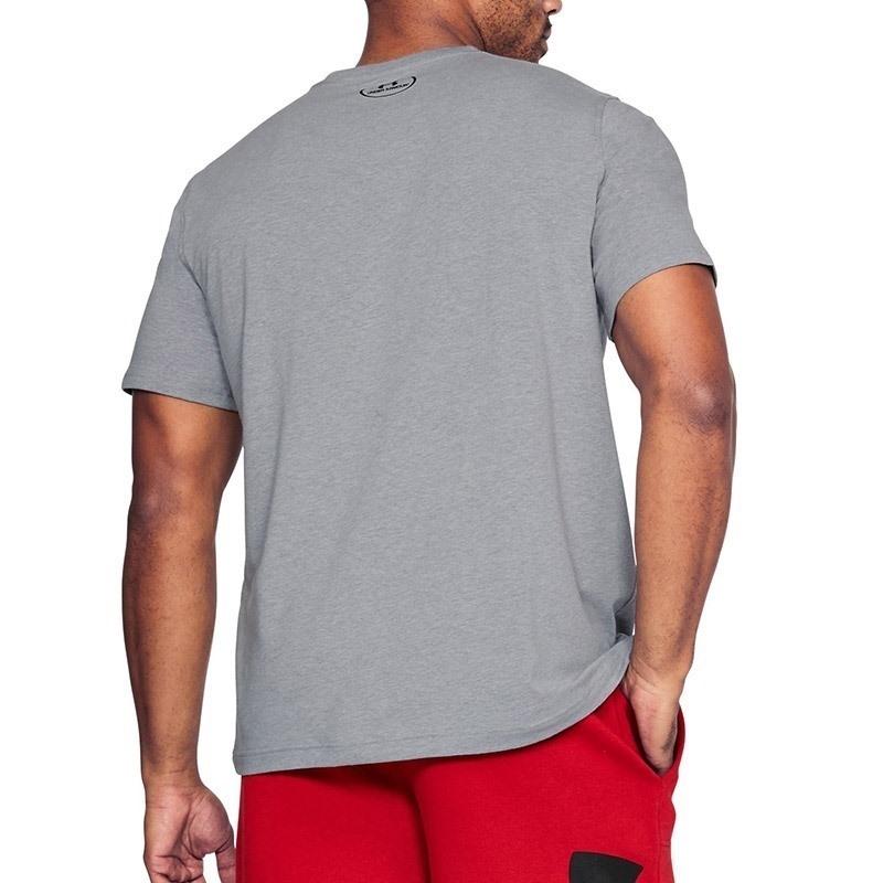 Under Armour Athlete SS Erkek T-Shirt - Gri