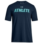 Under Armour Athlete SS Erkek T-Shirt - Lacivert