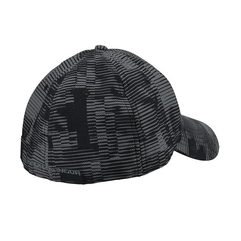 Under Armour Baskılı Blitzing 3.0 Streç Erkek Şapka Siyah