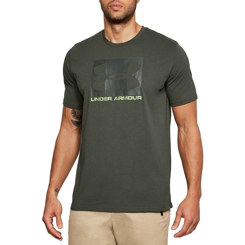 Under Armour Boxed Sportstyle SS Erkek T-Shirt - Haki