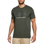 Under Armour Boxed Sportstyle SS Erkek T-Shirt - Haki