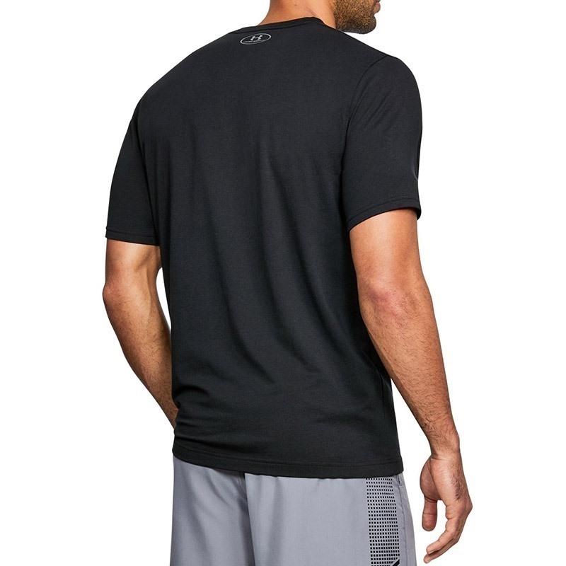Under Armour Boxed Sportstyle SS Erkek T-Shirt - Siyah