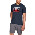 Under Armour Boxed Sportstyle T-Shirt Lacivert