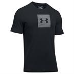 Under Armour Camo Boxed Logo Ss Erkek T-Shirt - Siyah