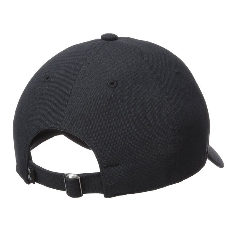 Under Armour Core Canvas Dad Erkek Şapka Siyah