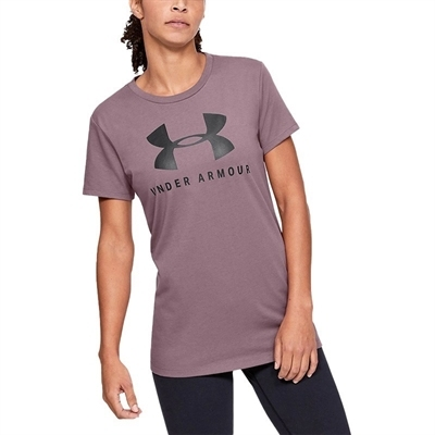 Under Armour Graphic Sportstyle Classic Crew T-Shirt Pembe