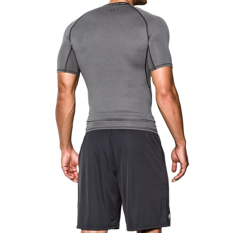 Under Armour HeatGear Armour Compression T-Shirt - Gri