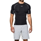 Under Armour HeatGear Armour Compression T-Shirt - Siyah