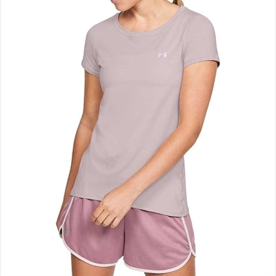 Under Armour HeatGear T-Shirt Pembe