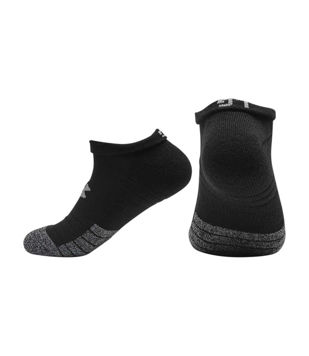 Under Armour Heatgear No Show Çorap 3'lü Paket Siyah