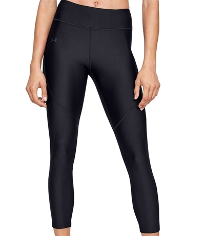 Under Armour Hg Shine Perforation Ankle Crop Kadın Tayt Siyah