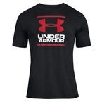 Under Armour Short-Sleeve Graph T-Shirt Siyah-Beyaz