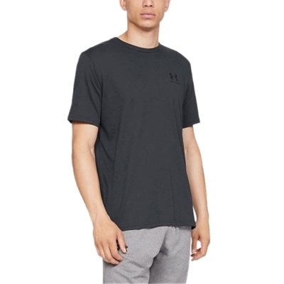 Sportstyle Left Chest T-Shirt - Siyah