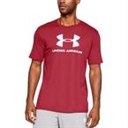 Under Armour Sportstyle Logo T-Shirt Kırmızı