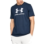 Under Armour Sportstyle Logo T-Shirt Lacivert