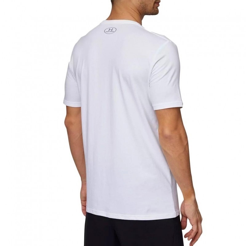 Under Armour Team Issue Wordmark Erkek T-Shirt Beyaz