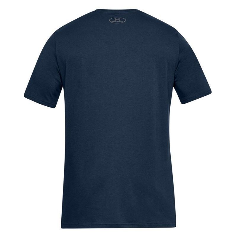 Under Armour Team Issue Wordmark Erkek T-Shirt Lacivert