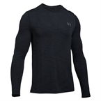 Under Armour Threadborne Seamless Ls Erkek Sweat-Shirt - Siyah