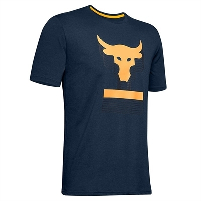 Under Armour x Project Rock Above The Bar T-Shirt - Lacivert