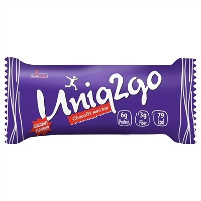Uniq2go Chocofit Mini Bar 25 Gr