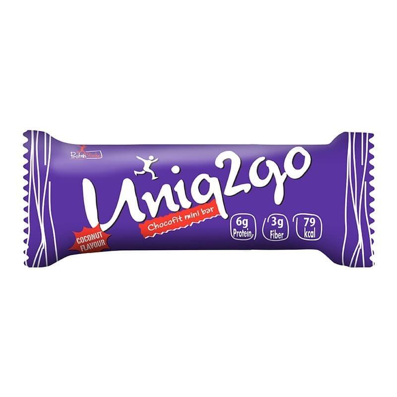 Uniq2go Chocofit Mini Bar 25 Gr 24 Adet
