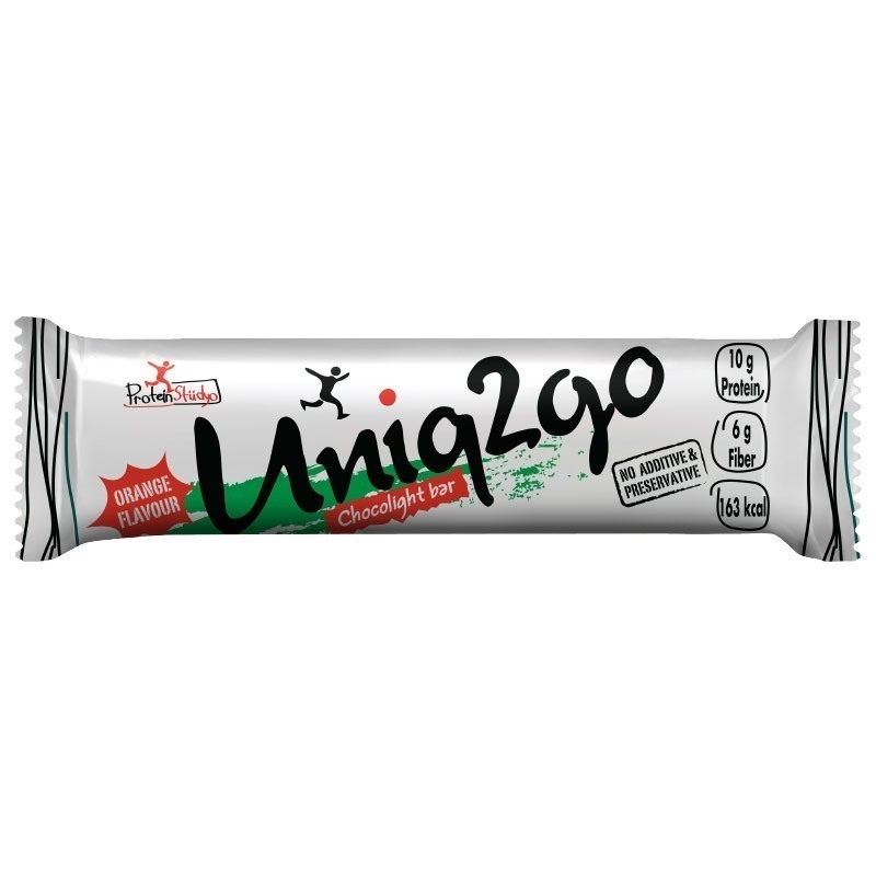 Uniq2go Chocolight Protein Bar 50 Gr