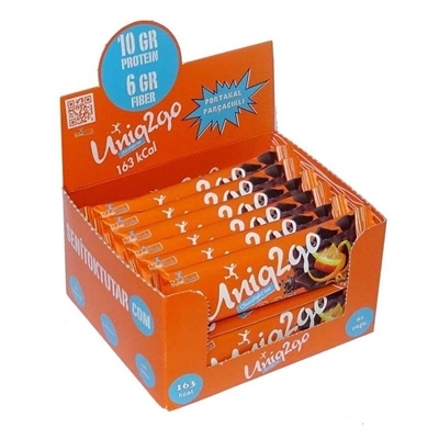 Uniq2Go Uniq2go Chocolight Protein Bar 50 Gr 16 Adet