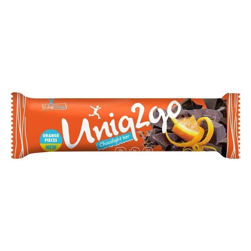 Uniq2go Chocolight Protein Bar 50 Gr 16 Adet