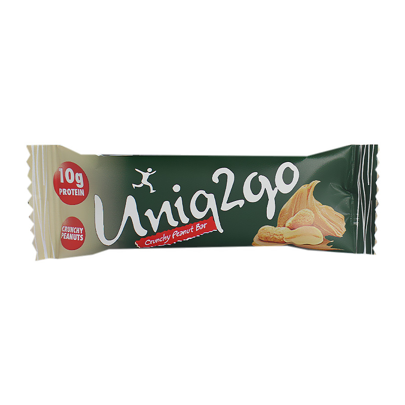 Uniq2go Fıstık Ezmeli Protein Midi Bar 40 Gr 16 Adet
