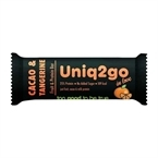 Uniq2go In Love  Kakaolu ve Mandalinalı Protein Bar 32 Gr