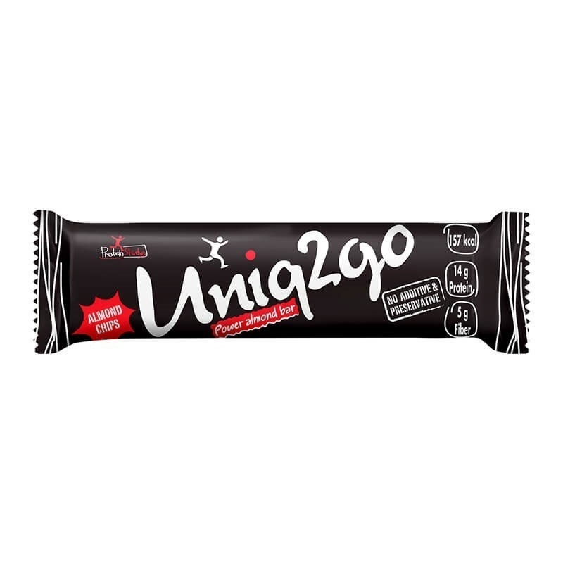 Uniq2go Power Protein Bar 45 Gr
