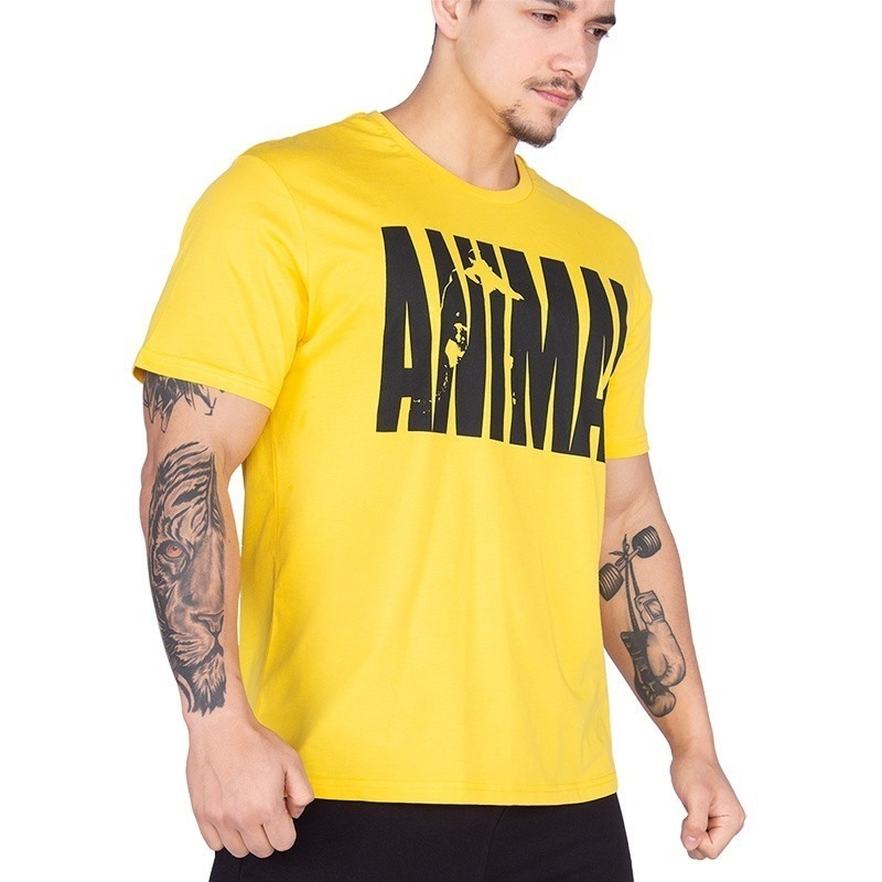 Universal Animal T-Shirt Sarı