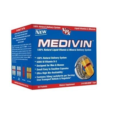 Vpx %100 Natural Medivin Vitamin & Mineral 30 Sıvı Kapsül