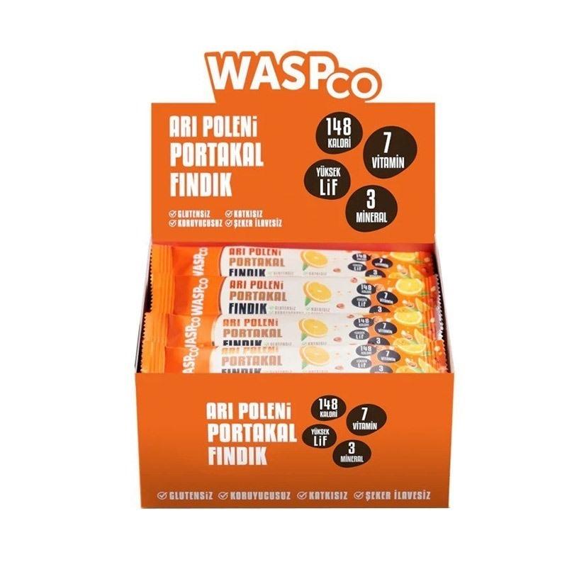 Waspco Arı Polenli Meyve Bar 35 Gr 16 Adet