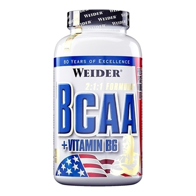 Weider All Free Form BCAA 130 Tablet