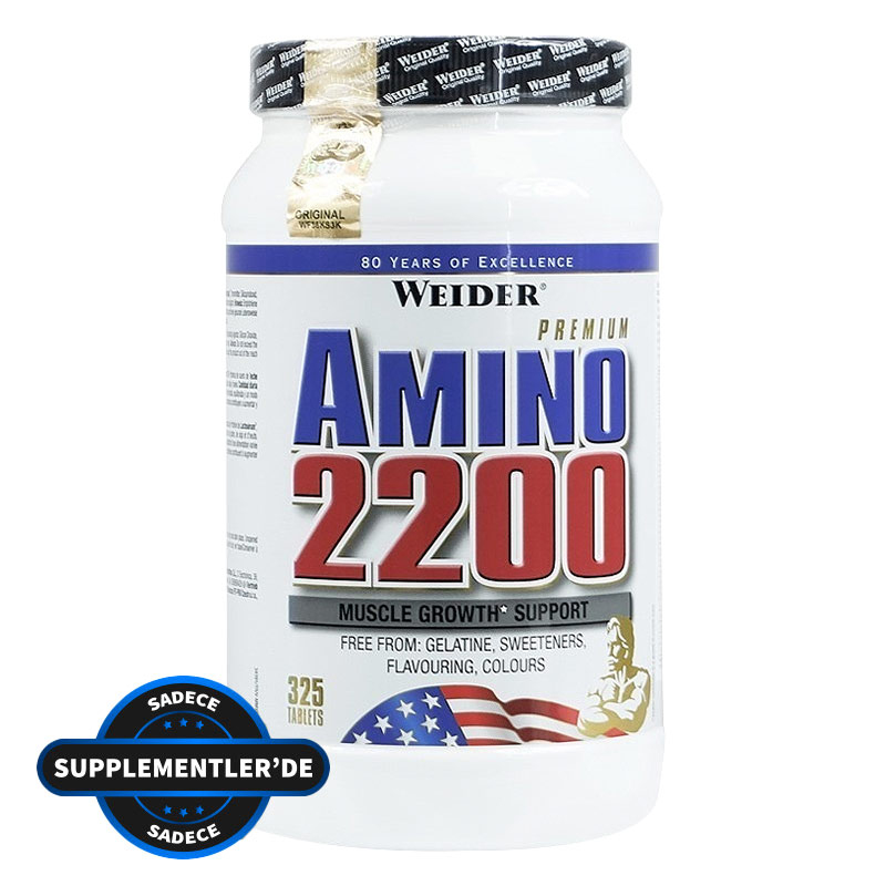 Weider Amino 2200 325 Tablet