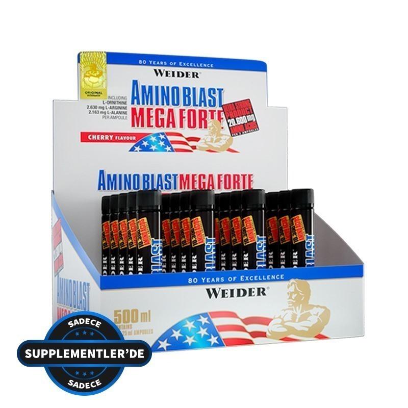 Weider Amino Liquid Mega Forte 20 Ampül